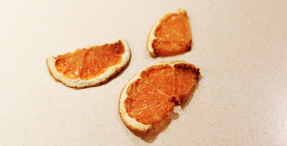 handmade dried citrus fruit